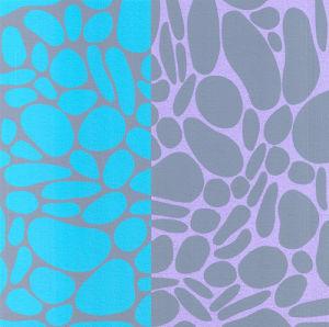 Pebble Stones (Silkscreen print) by Denise Duplock