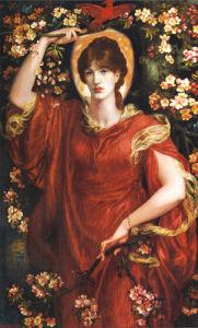 Vision of Fiammetta by Dante Gabriel Rossetti