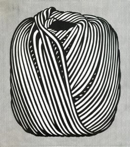 Ball of Twine by Roy Lichtenstein