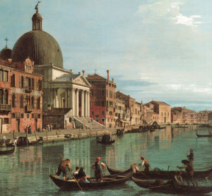 Venice, Upper Reach by Giovanni Canaletto