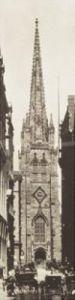 Wall Street & Trinity Church by J. Johnson