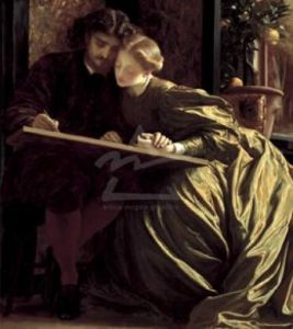 Painters Honeymoon by Lord Frederic Leighton