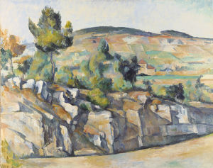 Hillside In Provence, 1892 by Paul Cezanne