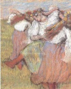 Russian Dancers, 1899 by Edgar Degas