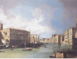 Grand Canal, Venice by Giovanni Canaletto