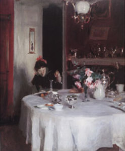 The Breakfast Table, 1883-1884 by John Singer Sargent