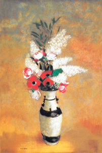 Vase of Flowers, 1912-14 by Odilon Redon
