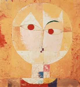 Senecio (Old man) 1922 by Paul Klee