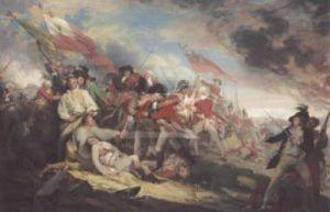 Death of General Warren at the Battle of Bunke by John Trumbull