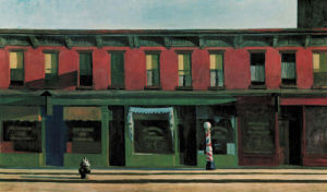 Early Sunday Morning, 1930 by Edward Hopper