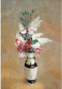 Vase Flowers, 1912-14 by Odilon Redon
