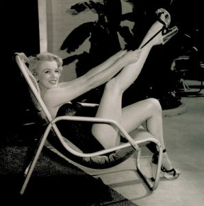 Marilyn, Poolside by Max Worth