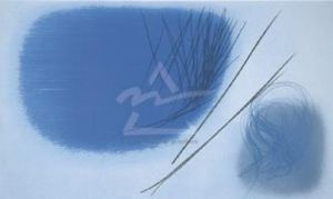 T1961-H27 (Silkscreen print) by Hans Hartung