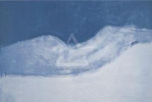 Nu Allong (Silkscreen print) by Hans Hartung