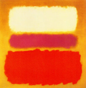 White Cloud Over Purple, 1957 by Mark Rothko