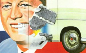 President Elect, 1960 by James Rosenquist