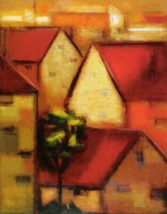 Rooftops I by Eric Balint