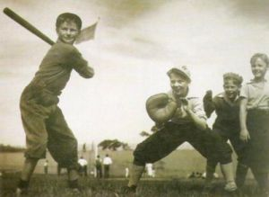 The Baseball Game by Grancel Fitz