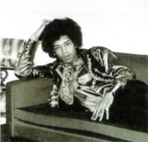 Jimi Hendrix, London, England, 1967 by Celebrity Image