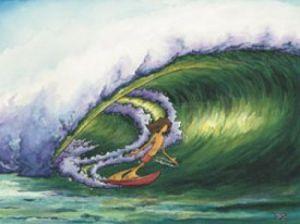 Green Slide by Aaron Bogushefsky