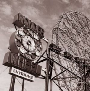 Wonder Wheel by Erin Clark