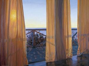 Evening Interplay, 2000 by Alice Dalton Brown