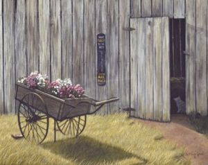 The Flower Cart by Green