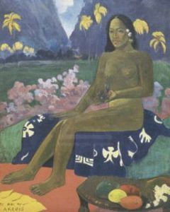 Te aa no areois, 1892 by Paul Gauguin