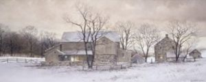 Evening Chores by Ray Hendershot
