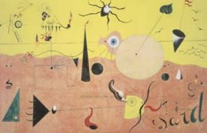 The Hunter by Joan Miro
