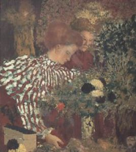 The Striped Blouse, 1895 by Edouard Vuillard