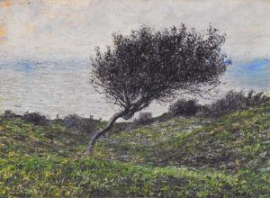 Sea Coast at Trouville by Claude Monet