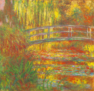 The Water Lily Pond, 1900 by Claude Monet
