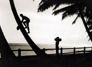 Hawaiian Silhouette, 1931 by Tom Blake