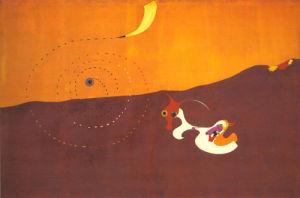 Landscape (The Hare) (Paysage [Le Lievre]), Autumn 1927 by Joan Miro