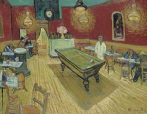 The Night Cafe, 1888 (small) by Vincent Van Gogh