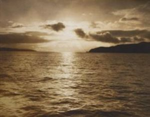 Sunset in the Golden Gate, ca. 1890 by Arthur Clarence Pillsbury