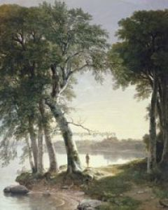 Early Morning at Cold Spring, 1850 by André Durand