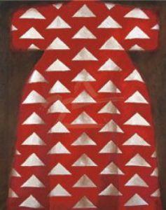 Red Kaftan Poster by Richard Nott