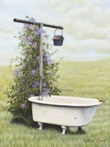 Bird Bath by Green