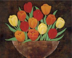 Tasteful Tulips by R. Rafferty