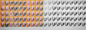 Marilyn x 100 by Andy Warhol