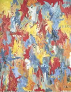 False Start, 1959 by Jasper Johns