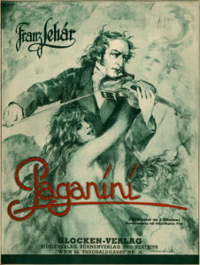 Franz Lehár 's operetta Paganini operetta in three acts by Anonymous