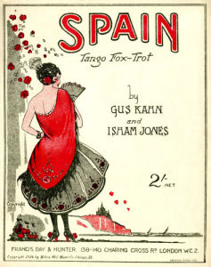 'Spain - Tango fox-trot' by Gus Kahn and Isham Jones by Anonymous