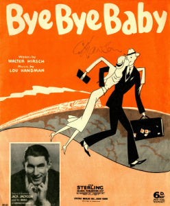'Bye Bye Baby', 1936 by Anonymous