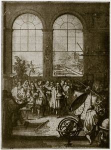 Inauguration of Louis XIV by Anonymous