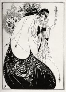 The Peacock Skirt, Salome by Oscar Wilde by Aubrey Beardsley