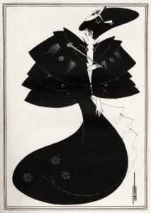 The Black Cape, Salome, by Oscar Wilde by Aubrey Beardsley