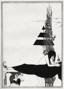 A Platonic Lament, Salome, by Oscar Wilde by Aubrey Beardsley